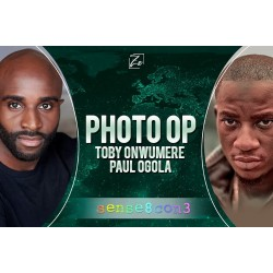 Photo Op Paul Ogola and...