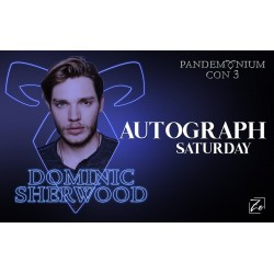 Autograph Dominic Sherwood...