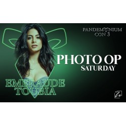 Emeraude Toubia Photo Op...